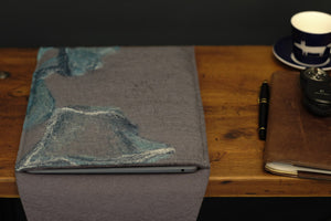 free flowing teals and silk - MacBook