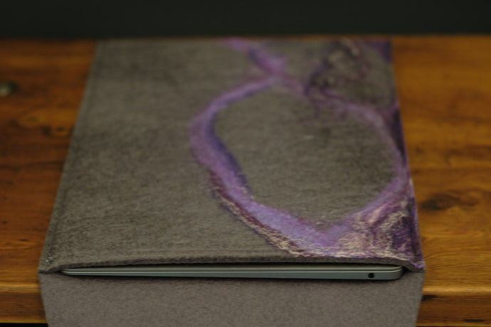 free flowing purples and silk - MacBook
