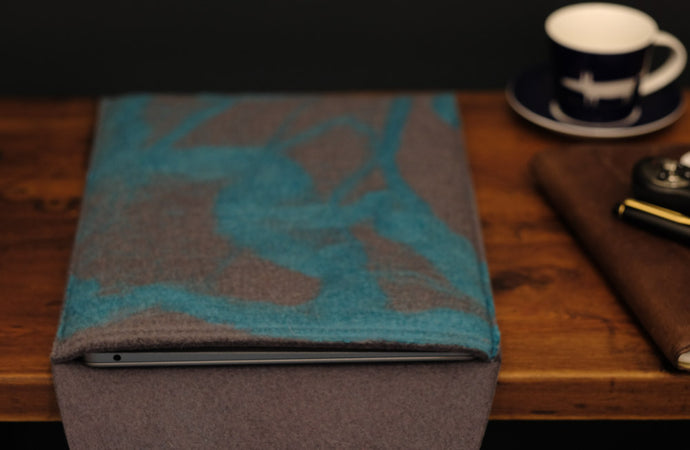 free flowing turquoise - MacBook