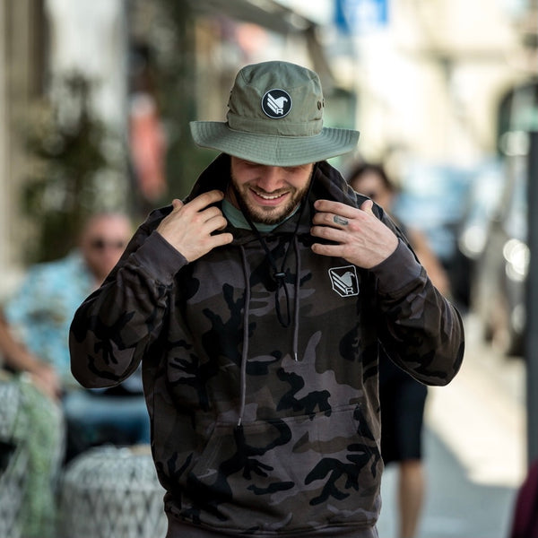 RFORCE8 - hoodies - Dark Camo