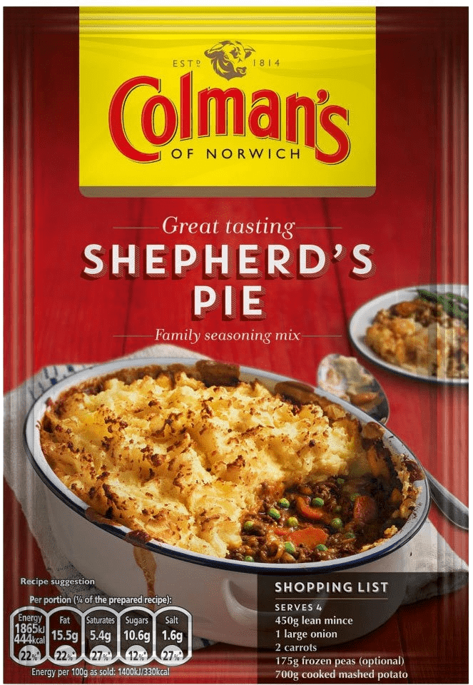 Colemans - Shepherd Pie Mix