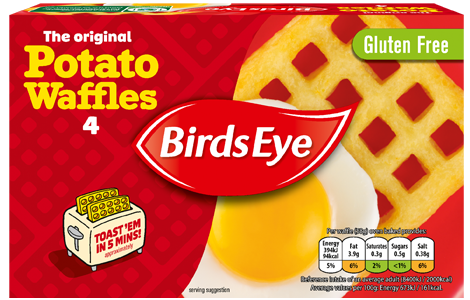 Birds Eye Potato Waffles
