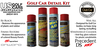 The Ultimate OEM Golf Cart Detail Kit for Club Car, EZ-GO,Yamaha