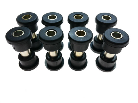Club Car DS Front and Both Rear Suspension Bushing and Sleeve Kit