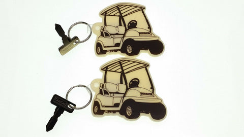 Club Car Golf Cart Key(s) Replacement with fob. 1984 to current. 2 Keys and Fobs