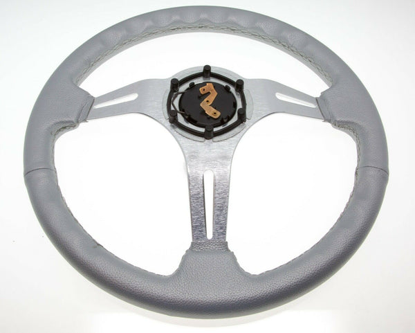 Silver Club Car Precedent Steering Wheel with Hub Adapter