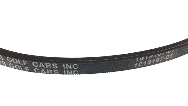 Club Car Starter Generator & Drive Belt 1997-Up DS & Precedent 101916701 1016203