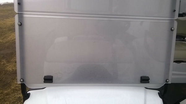 Yamaha Drive / G29 Golf Cart TINTED Windshield NEWLY RE-ENGINEERED - THE BEST