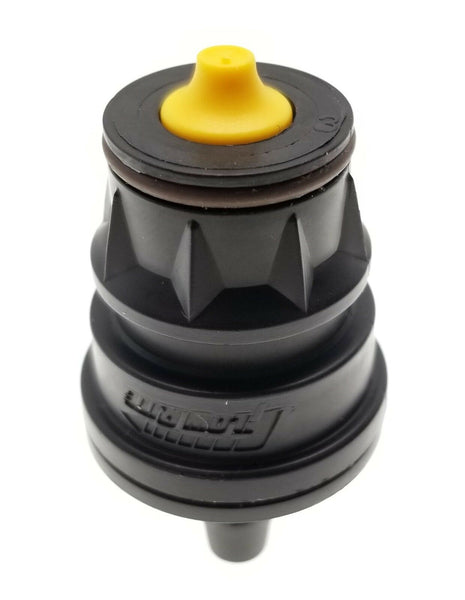 "BA-QDV-512 Coupler Male Quick Connect w/ Dust Cover 1/4"" barb By FLOW- RITE"