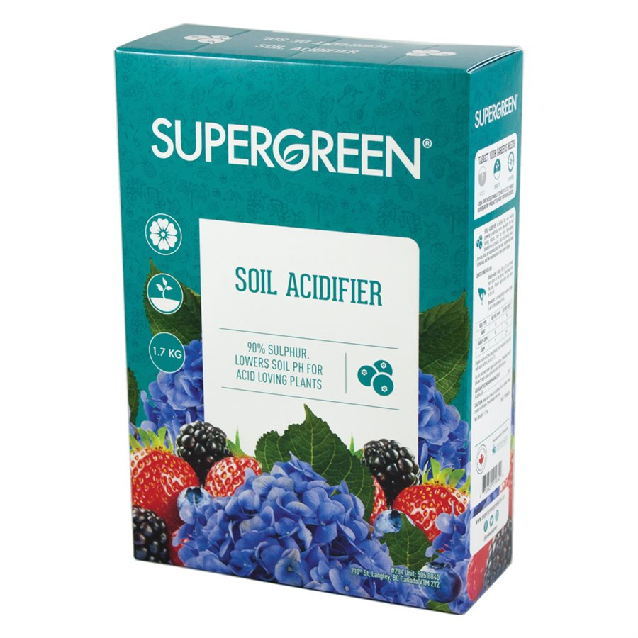 SG Soil Acidifier Sulphur 1.7kg