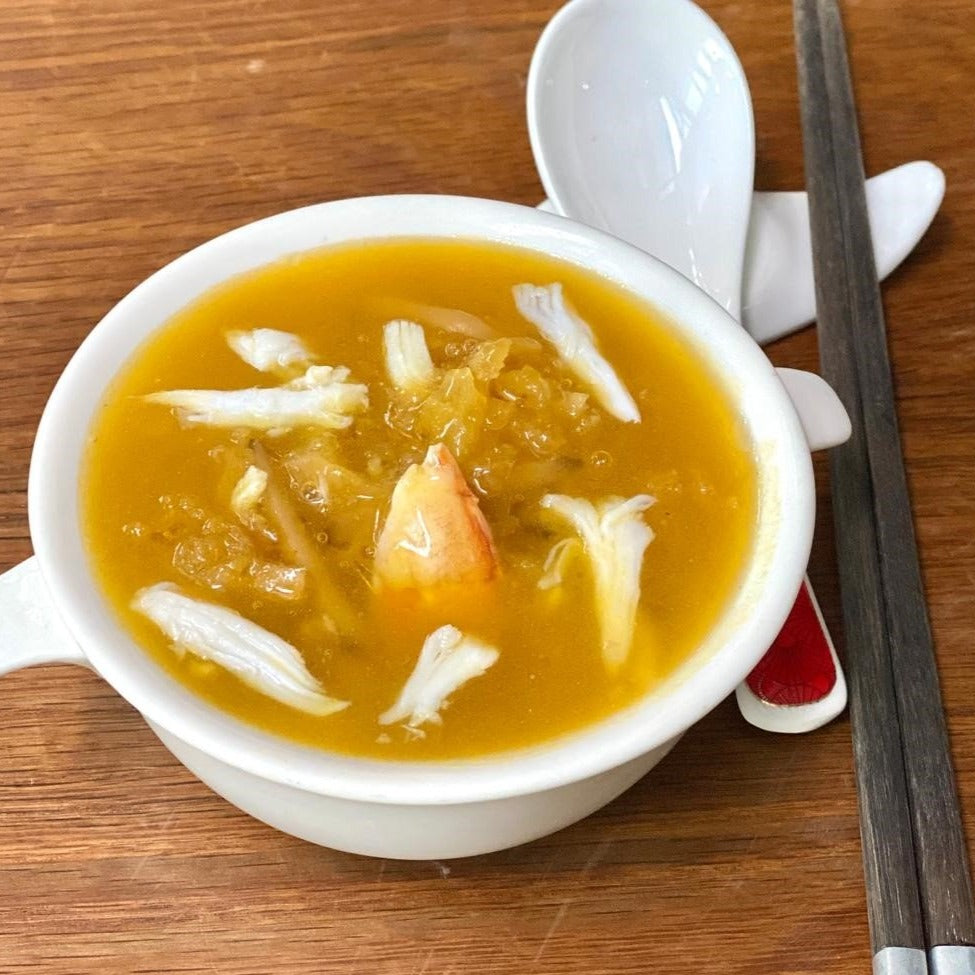 Crabmeat Broth With Fish Maw