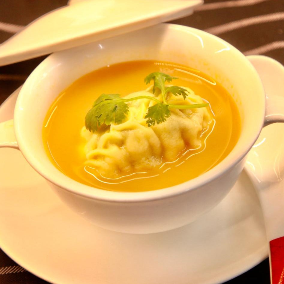 Lobster Dumpling Soup