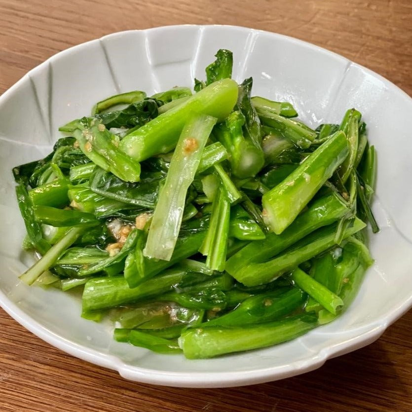 Stir-Fried Choy-Sum, Chives And Minced Garlic