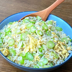 Fried Rice With Eggs And Vegetable