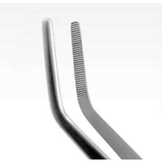 Aquavitro Curved Forceps