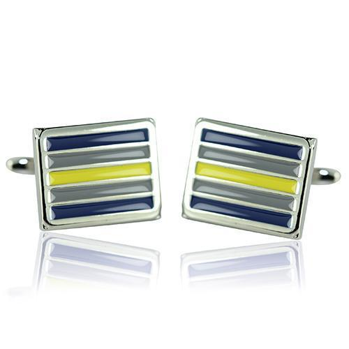 Rugby League Supporter Cufflinks-Cufflinks-TheCuffShop-C01334-TheCuffShop.com.au