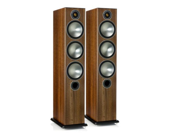<B><i>LAST ONE!</i> MONITOR AUDIO BRONZE BR6 FLOOR STANDING SPEAKERS</B>