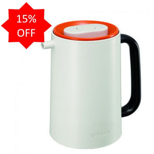 <b> Tiger Stainless Steel Finish Handy Jug 1.0L Orange </b> PRUA100V
