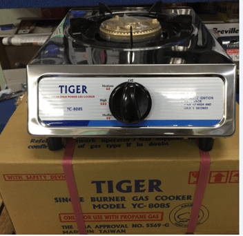 <b> Tiger Single Gas Cooker with Safety Device</b> YC808S