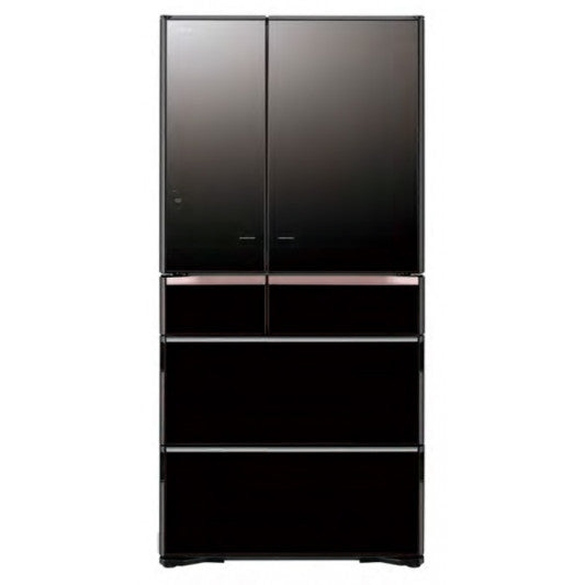 <b>Hitachi 735Ltr Mirro Glass Finish - Made in Japan French Door Series Refrigerator</b>