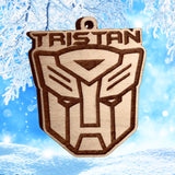 Transformers personalized ornaments, Optimus Prime