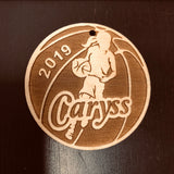 Girl Basketball player, laser Engraved ornament, personalized ornament, stocking stuffers, keychain