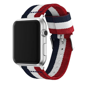 Striped Nato Band for Apple Watch