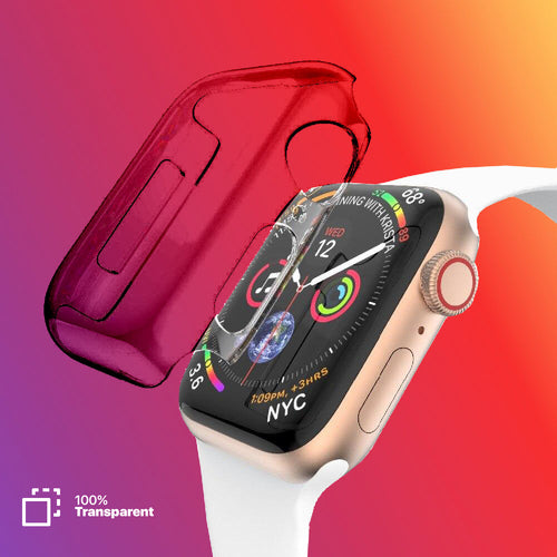 Transparent Protective Case for Apple Watch