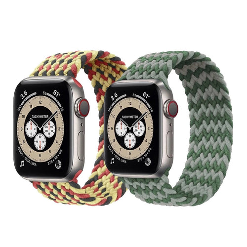 Braided One Loop Anderson Apple Watch Band on white background