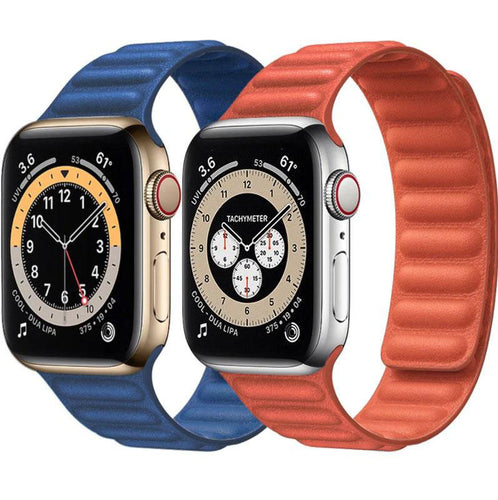 Luxury Leather Band for Apple Watch