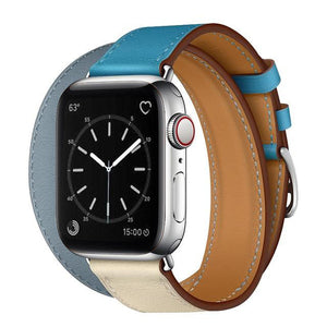 Infinity Leather Band for Apple Watch