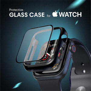 Protective Glass Case for Apple Watch