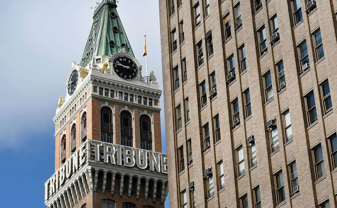The Alameda Tribune Tower - Part of The Alameda Skyline for 95 Years.