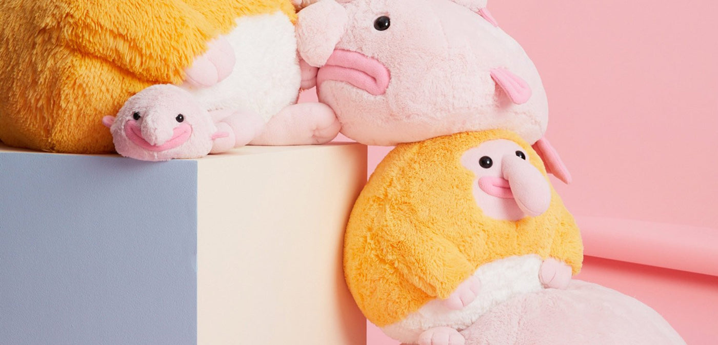 Stuffed toys by Uncute