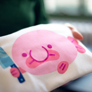 Blobby the Blobfish - screen printed shirt