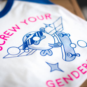Gender neutral T shirt print
