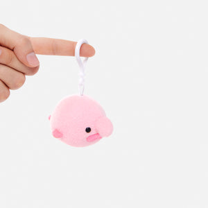 Blobby the Blobfish - key ring