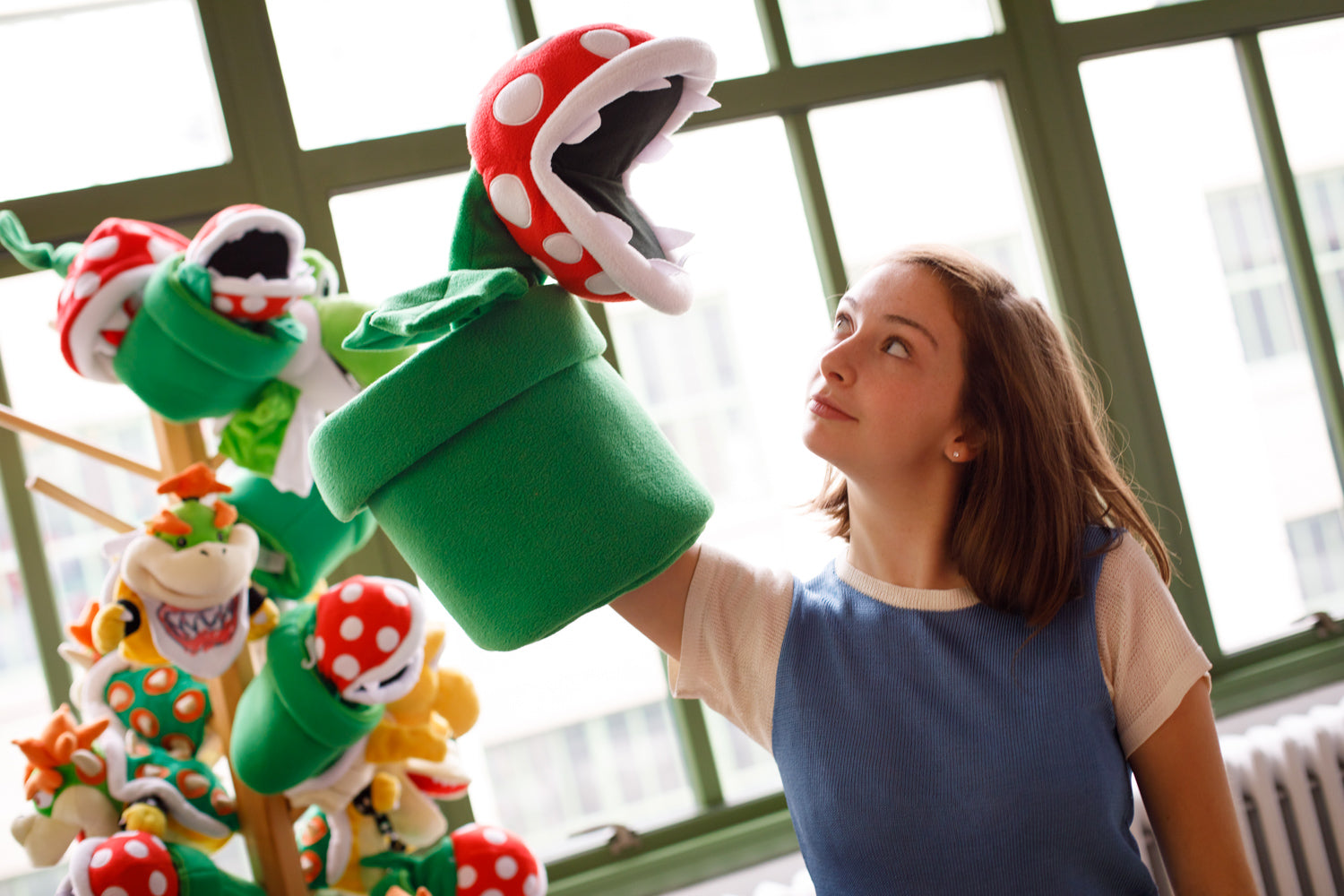 Official Piranha Plant puppet by Uncute