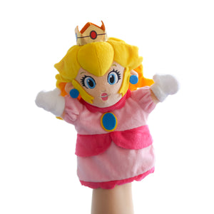 Princess Peach hand puppet