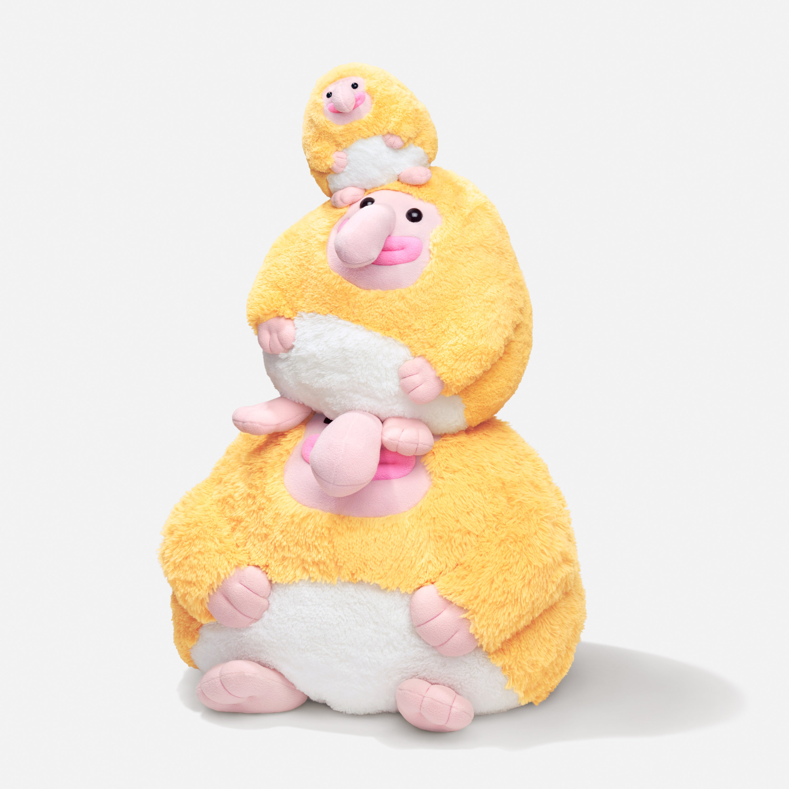 Blobby and Friends - monkey plushies