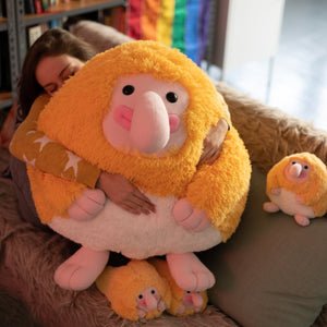 Huge stuffed toy of Proboscis Monkey