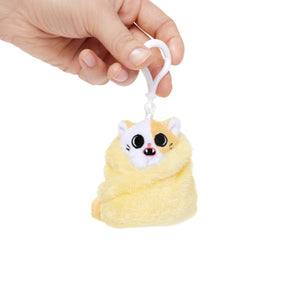 Purrito key ring - Pork Bun