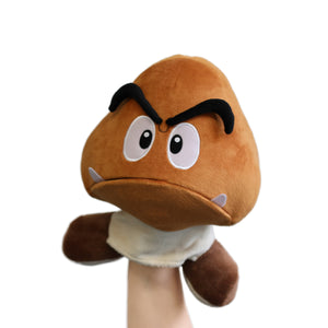 Goomba puppet with moveable mouth