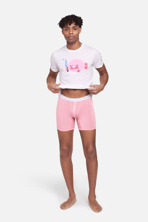 Uncute undies - gender neutral briefs on model