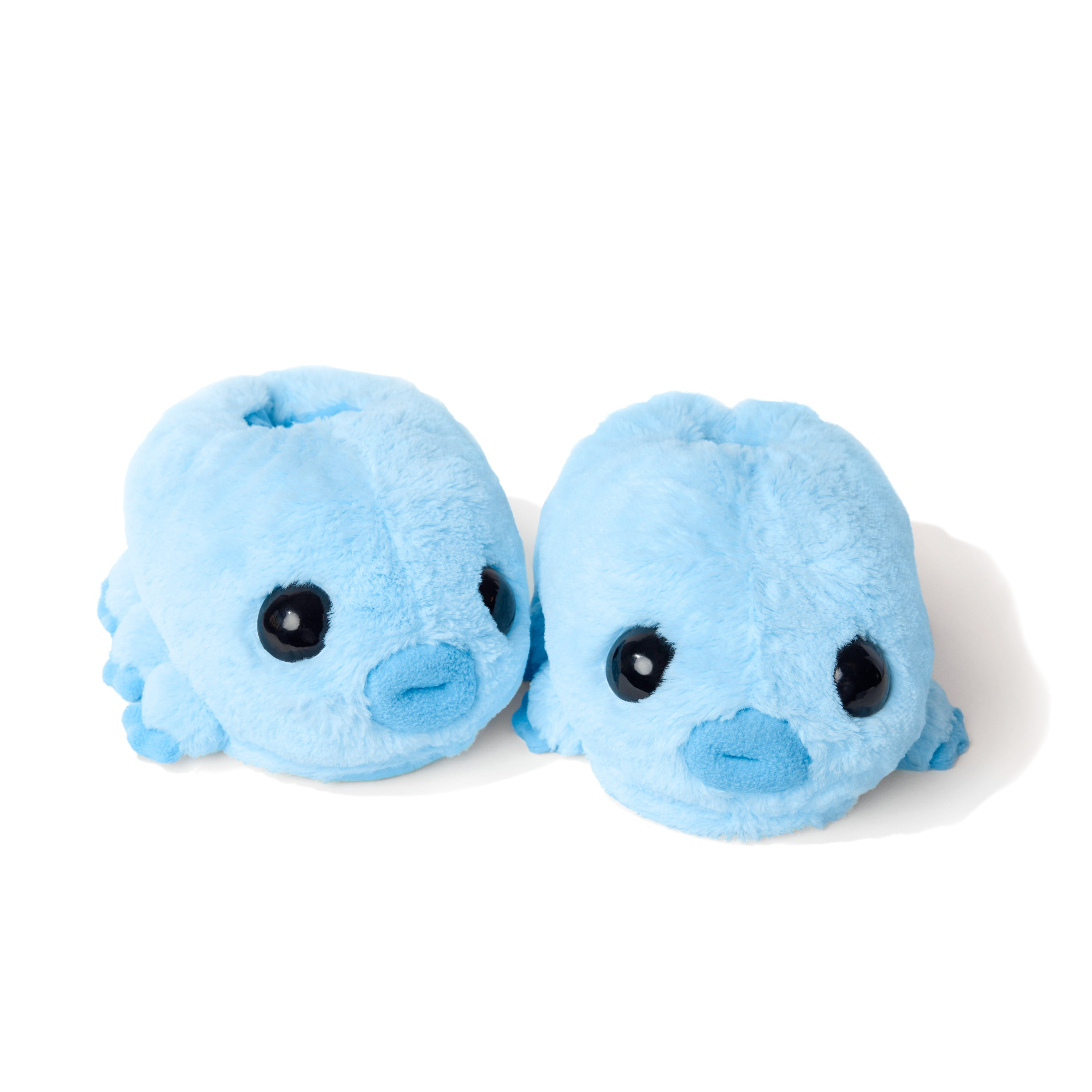 Water Bear fuzzy slippers