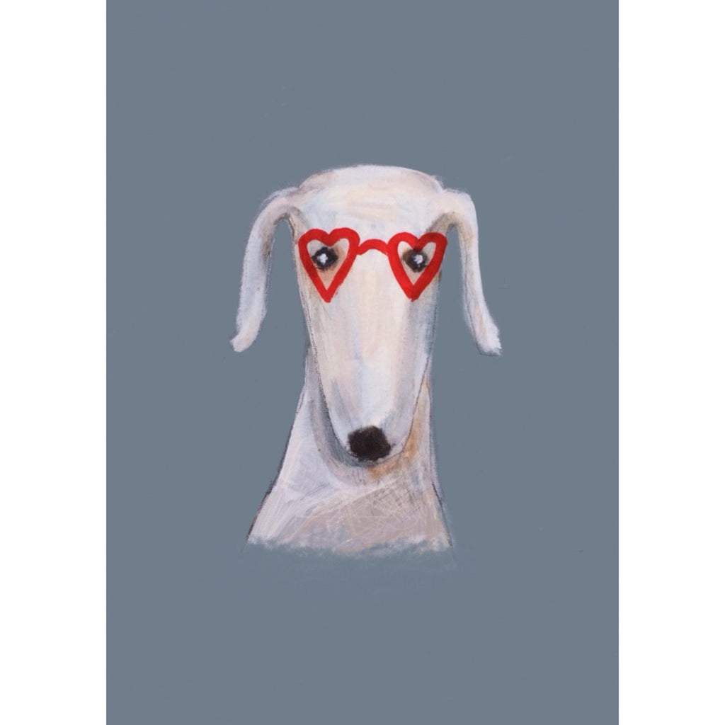 Print Circus A3 unframed Heart Shaped Glasses print