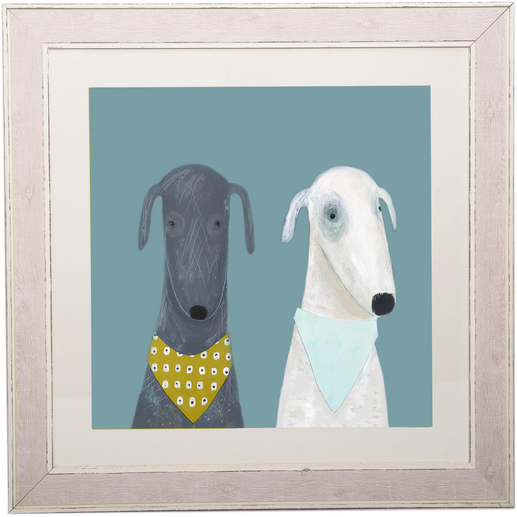 Print Circus Extra Large Framed Print Extra large distressed frame Dotty & Clive Extra Large Framed Print