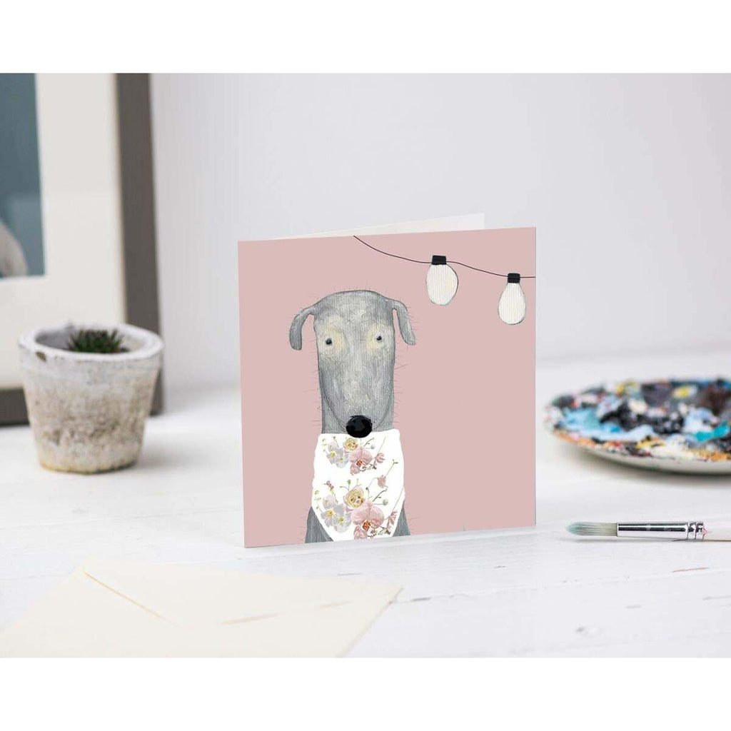 Print Circus Greetings Card AD01 Alice Dog Greetings Card