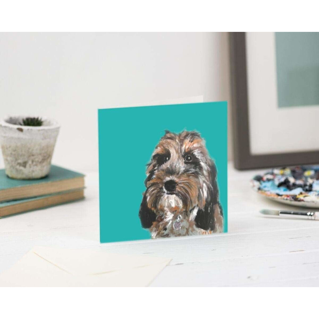 Print Circus Greetings Card Molly Dog Greetings Card