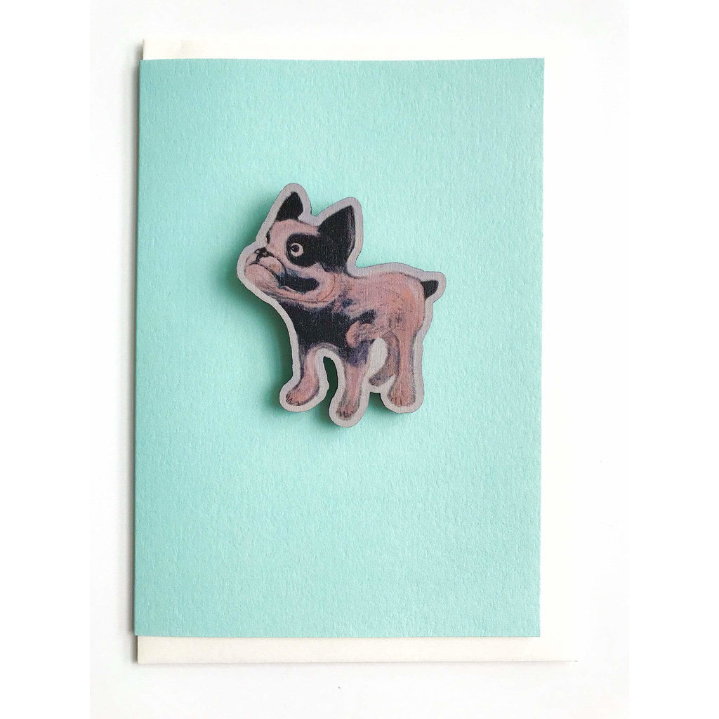 Print Circus Magnet Card MC05-r Mabel Dog magnet card on mint